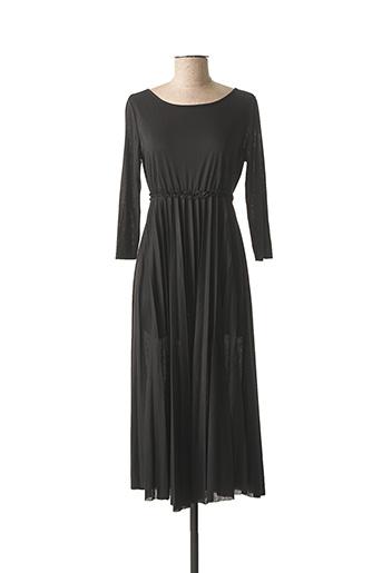 Robe longue noir NINATI pour femme