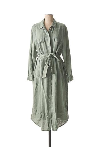 Robe longue vert SCAPA pour femme