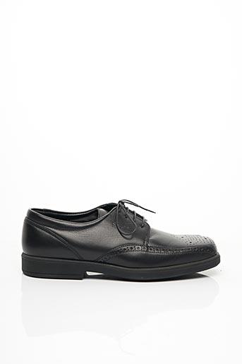 Chaussures de confort noir SLEDGERS pour homme