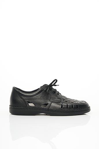 Chaussures de confort noir RIEKER pour homme