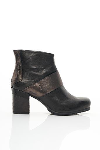 Bottines/Boots noir KHRIO pour femme