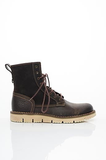 Bottines/Boots marron TIMBERLAND pour homme
