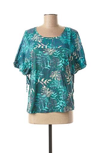 T-shirt manches longues vert EVA KAYAN pour femme