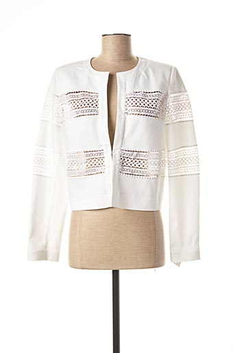 Veste chic / Blazer blanc EXTENZO PARIS pour femme