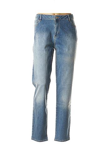 Jeans skinny bleu EVA KAYAN pour femme