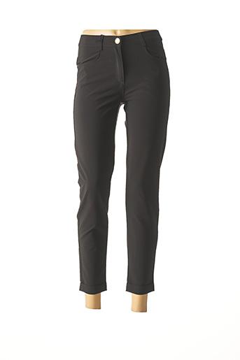 Pantalon 7/8 noir EAST DRIVE pour femme