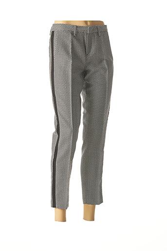 Pantalon 7/8 noir SUD EXPRESS pour femme