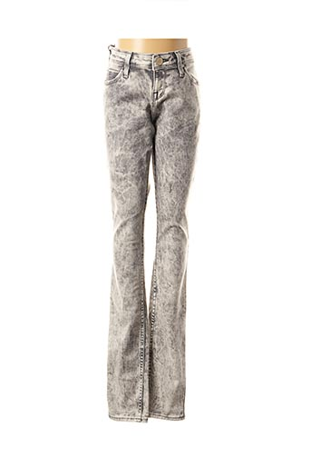 Jeans skinny gris LEE pour femme