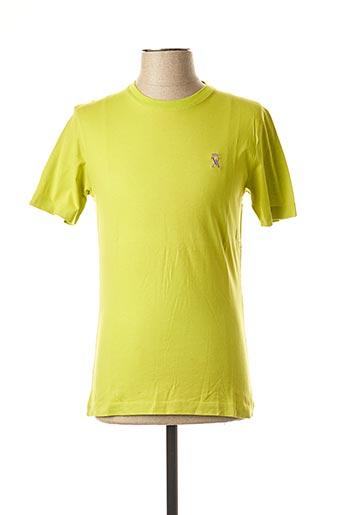 T-shirt manches courtes vert VICOMTE ARTHUR pour homme