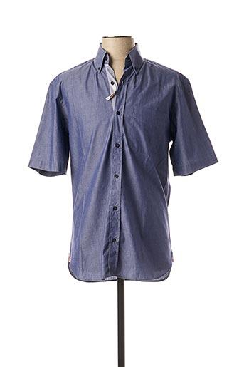 Chemise manches courtes bleu ARROW pour homme