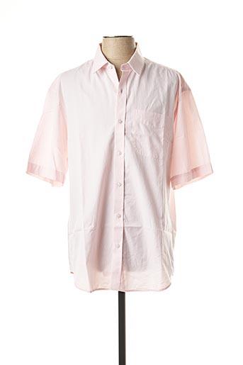 Chemise manches courtes rose ARROW pour homme