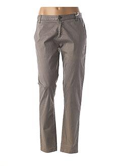 Pantalon casual gris DDP pour femme