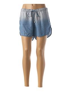 Short bleu LAVAND pour femme
