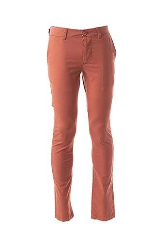 Pantalon casual orange BEING HUMAN pour homme