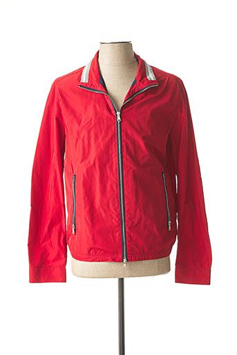 Veste casual rouge CH. K. WILLIAMS pour homme