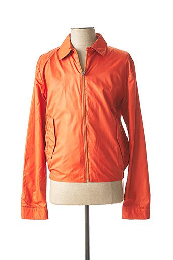 Coupe-vent orange CH. K. WILLIAMS pour homme