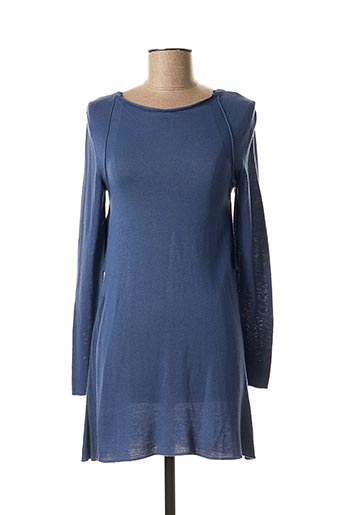 Robe courte bleu LUNATISME pour femme