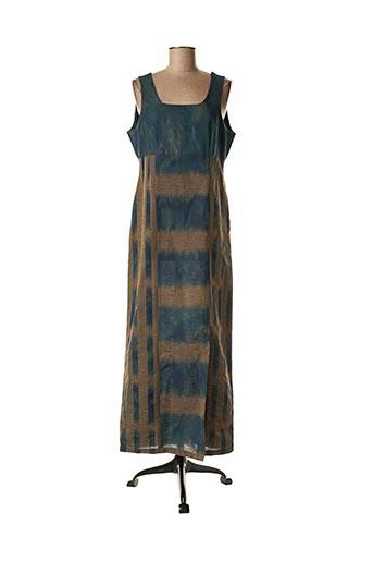 Robe longue bleu COCO MENTHE pour femme