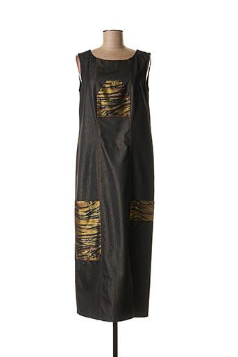 Robe longue marron ROSA ROSAM pour femme