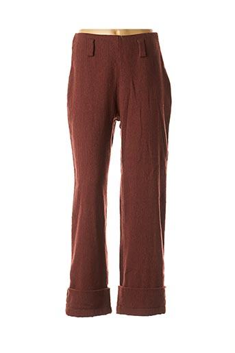 Pantalon casual rouge COCO MENTHE pour femme