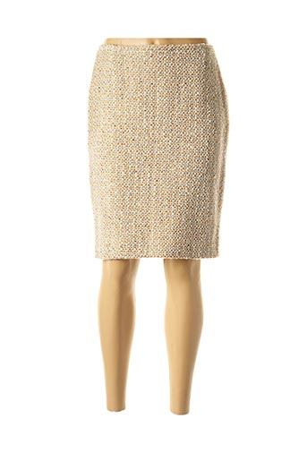 Jupe mi-longue beige VERTIGO PARIS pour femme