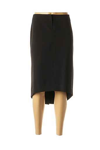 Jupe mi-longue noir BLUS&BLUS pour femme