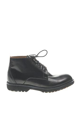 Bottines/Boots noir SERGE BLANCO pour homme