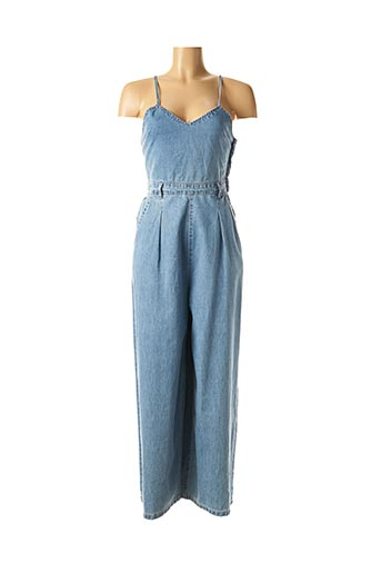 Combi-pantalon bleu MOLLY BRACKEN pour femme