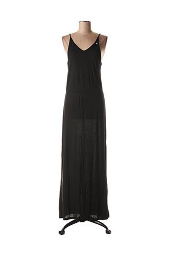 Robe longue noir PETROL INDUSTRIES pour femme