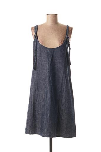 Robe mi-longue bleu BLA-BLA pour femme