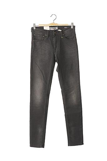 Jeans skinny noir PETROL INDUSTRIES pour homme