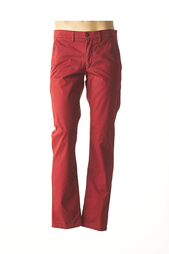 Pantalon casual rouge CAMBRIDGE pour homme