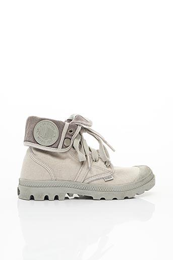 Bottines/Boots gris PALLADIUM pour femme
