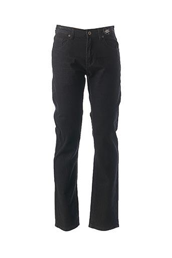 Pantalon casual noir CBK pour homme