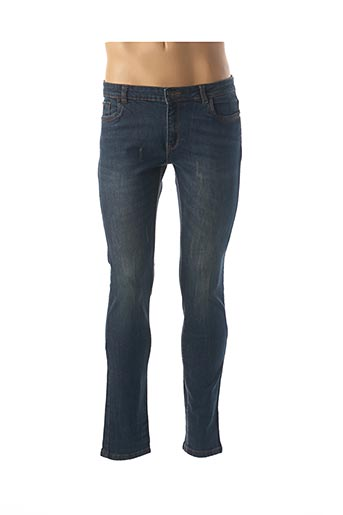 Jeans skinny bleu TREZ pour homme