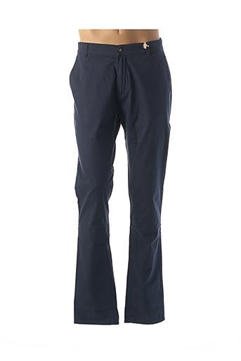 Pantalon casual bleu BELLFIELD pour femme