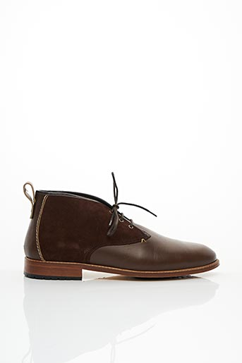 Derbies marron M.MOUSTACHE pour homme