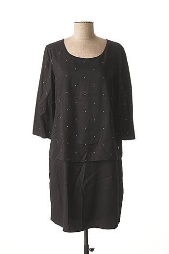 Robe courte noir CECIL pour femme