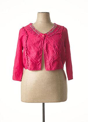 Veste casual rose JAC JAC pour femme