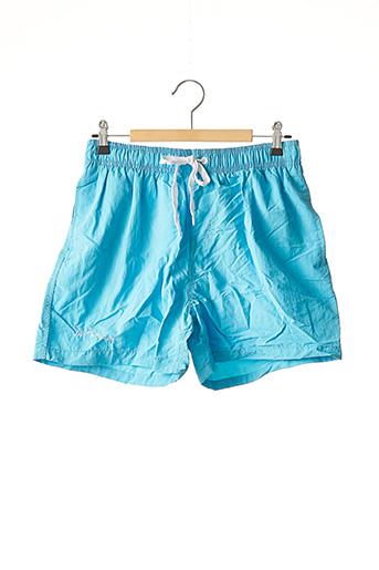 Short bleu SURFBISCUS pour homme