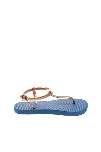 Tongs bleu SURFBISCUS pour fille