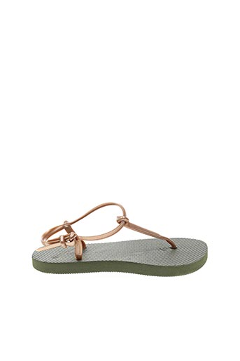 Tongs vert SURFBISCUS pour fille