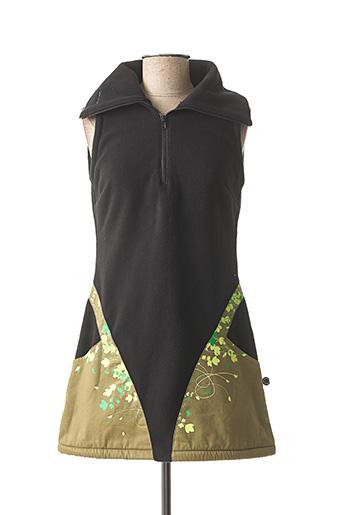 Robe courte noir TURBOWEAR pour femme