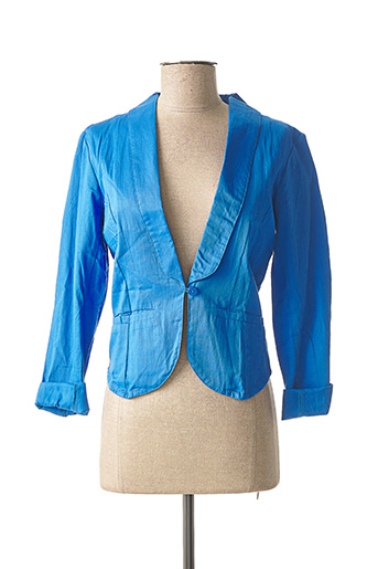 Veste casual bleu PRINCESSE NOMADE pour femme