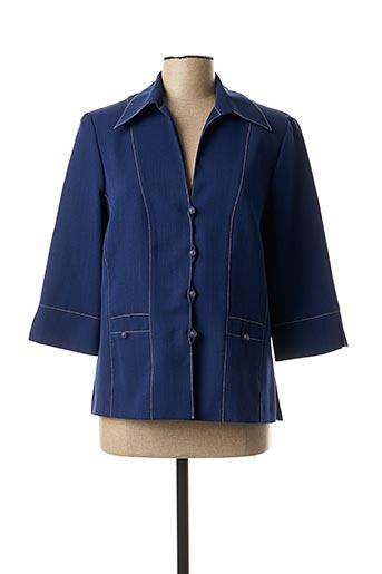 Veste casual bleu 20/20 pour femme