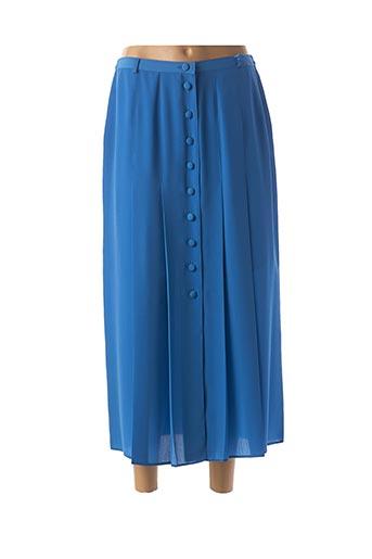 Jupe longue bleu CLAUDE BAUER pour femme
