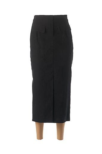 Jupe longue noir CLAUDE BAUER pour femme