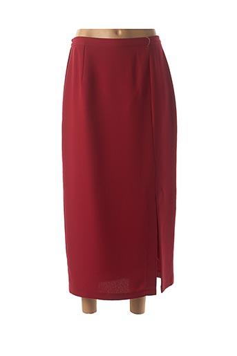 Jupe longue rouge KANANGA pour femme