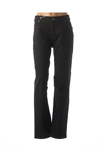 Jeans coupe slim noir MUSTANG pour femme