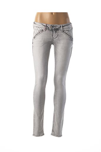 Jeans skinny gris MUSTANG pour femme